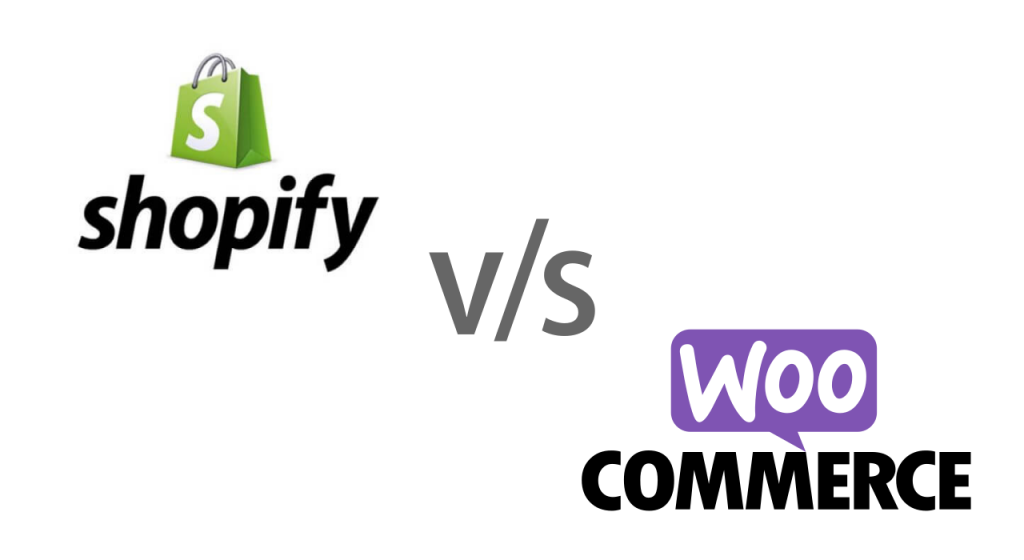 shopify vs woocommerce - feature image for the post titled shopify vs woocommerce