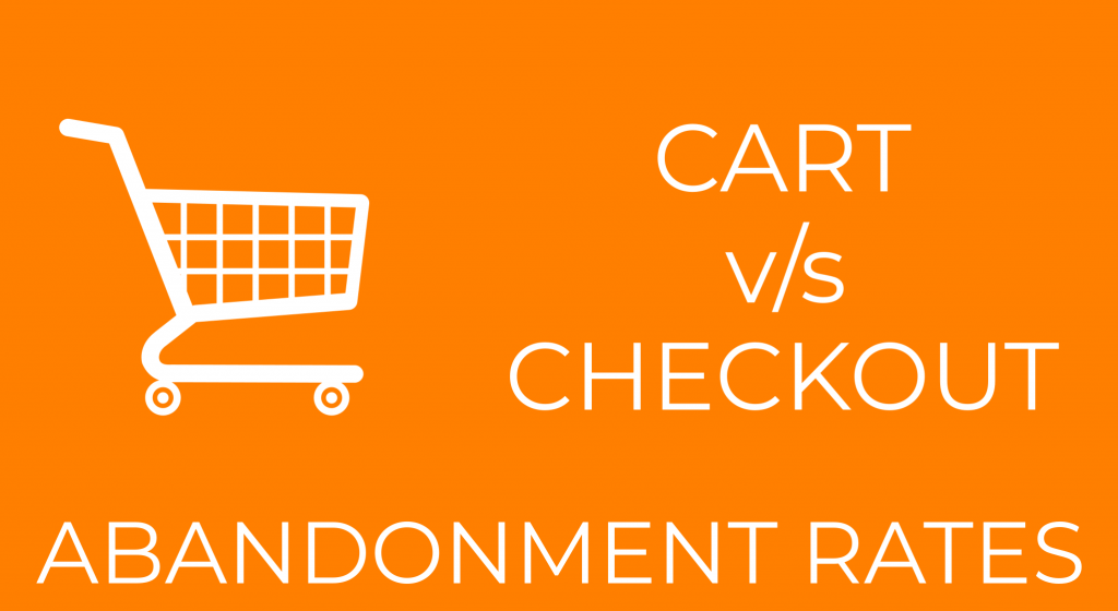 cart abandonment vs checkout abandonment rates and related opinions image on thames technologies blog